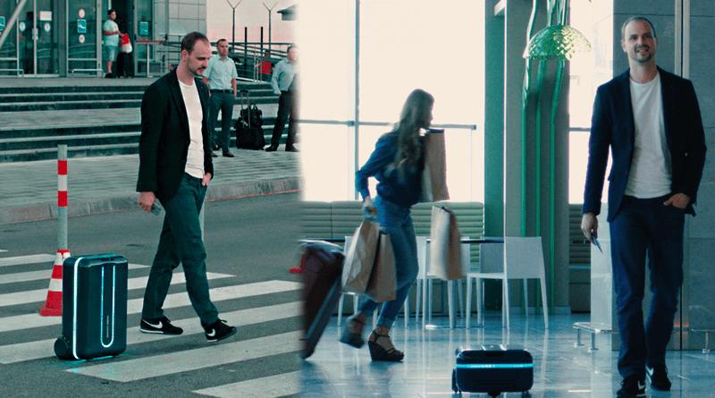 Travelmate robot bavul