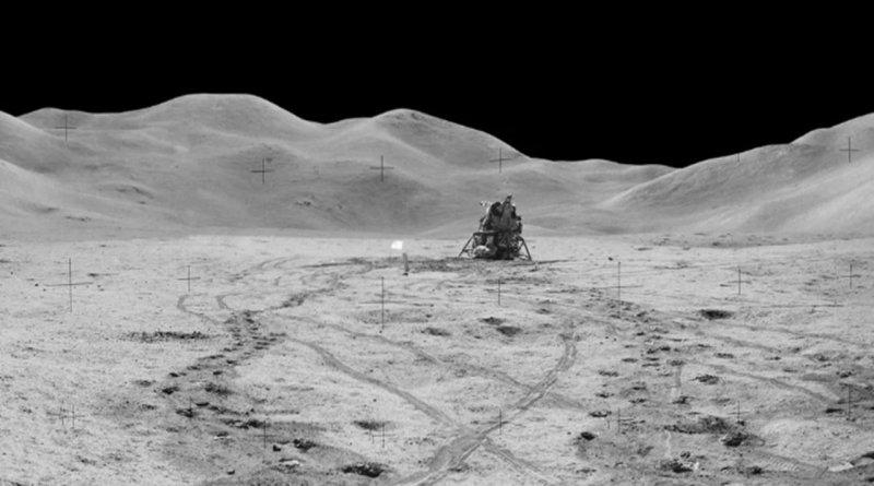 Nasa'dan Ay Panoraması Paylaşımı