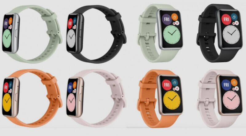 Akıllı Bileklik Huawei Watch Fit'in Dikkat Çeken Özelikleri